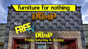 The Dump Patio Furniture by Dallas Get Your Furniture For Nothing And Your Tv For Free Youtube