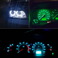100 Interior Truck Lighting 20pcs Car T5 LED SMD Light Dashboard Gauge