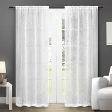 Sheer Curtain Panels 96 Inches by 96 Inches Sheer Curtains Shop The Best Deals For Dec 2017