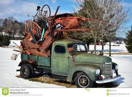 100 Junk Truck Vintage Green Holding Stock Image Image Of