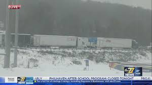 Winter Weather Shuts Down Stretch Of I-83, Stuck Cars And Trucks In ...