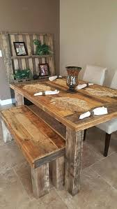 Farmhouse Dining Bench Stunning Room Theme To Best Table With Ideas On Kitchen