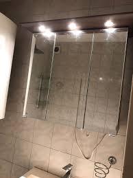 spiegelschrank inkl spots