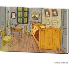 Bedroom in Arles – Rabbit with Mask