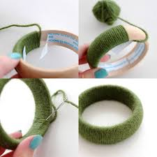 How To Make Woven Yarn Bangles Mypoppetau