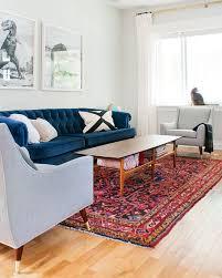 Tufted Velvet Sofa Toronto by Persian Rug Tufted Blue Velvet Sofa Mid Century Chairs In