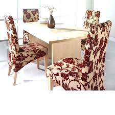 Dining Chairs Cover Covering Room Chair Cushions Red Pictures