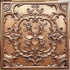 Antique Ceiling Tiles 24x24 by Pl19 Faux Tin Antique Copper Ceiling Tiles 3d Embossed Photography