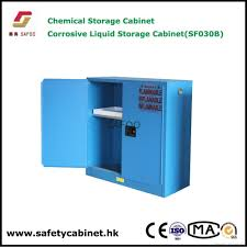 Flammable Liquid Storage Cabinet Grounding by Toxic Noxic Poison Chemical Storage Cabinet Sf30b Safoo China