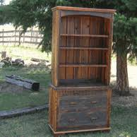 Country Roads Barnwood Bookcase