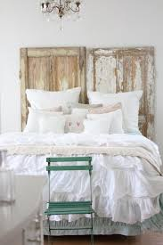 Retro Style Bed Bedroom Design White And Gold Vintage Modern