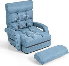 dreamade klappsessel schlafsofa klappbar klappsofa gepolstert bodensofa klappstuhl faul sofa verstellbar schlafsessel mit bettfunktion liegesessel