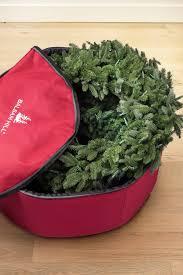 Upright Christmas Tree Storage Bag by Wreath Storage Bag Balsam Hill