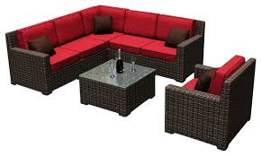 Grand Resort Patio Chairs by Patio Furniture With Red Cushions Roselawnlutheran
