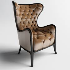 Leather Tufted Chair And Ottoman by Dining Room Wingback Leather Chair Tufted Chair Leather