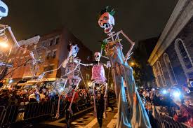 Park Slope Halloween Parade 2015 Route by Village Halloween Parade New York Sightseeing Monster Return For