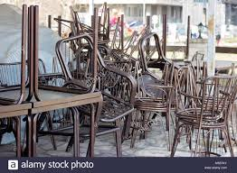 Stack Of Metal Brown Chairs And Tables In Closed Coffee Shop Stock ... Chairs And Tables The Home Of Truth Stack On Table Clipart Free Clip Art Images 21722 Kee Square Chrome Breakroom 4 Restaurant The 50 From Restoration Hdware New York Times Kobe 72w X 24d Flip Top Laminate Mobile Traing With 2 M Cherry Finish And Burgundy Lifetime 5piece Blue White Childrens Chair Set 80553 Lanzavecchia Wai Collection Includes Hamburger Tables Starsky Stack Table Rattan Of 3 45 Round Adjustable Plastic Activity School