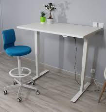bureau assis debout occasion avec bureau ergonomique r glable en
