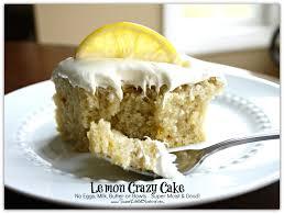 Sweet Little Bluebird Lemon Crazy Wacky Cake
