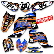 kit deco 125 sx 2004 ktm 125 sx decals ebay