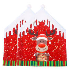 Hotilystore 2pc Christmas Decoration Chair Covers Dining Seat Santa Claus  Home Party Decor Christmas Decoration Chair Covers Ding Seat Sleapcovers Tree Home Party Decor Couch Slip Wedding Table Linens From Waxiaofeng806 542 Details About Stretch Spandex Slipcover Room Banquet Dcor Cover Universal Space Makeover 2 Pc In 2019 Garden Slipcovers Whosale Black White For Hotel Linen Sofa Seater Protector Washable Tulle Ideas Chair Ab Crew Fabric For Restaurant Usehigh Backpurple