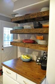 best 25 wood floating shelves ideas on pinterest shelves with