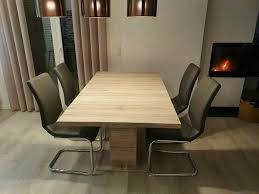 esszimmer esstisch ausziehbar stühle set schwingstühle tisch