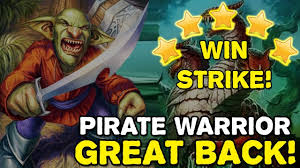 Hunter Decks Hearthstone August 2017 by Hearthstone Pirate Warrior 2017 Easy Win Streak Youtube