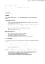 Police Officer Resume Ideas Collection Cover Letter For On Download