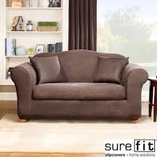 Sure Fit Sofa Covers Australia by Leather Sofa Slip Cover Ebay