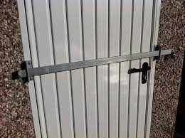 Sliding Patio Door Security Bar by Shed Security Locking Bar Amazon Co Uk Garden U0026 Outdoors