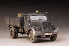 100 German Trucks Award Winner Built Italeri 135 Opel Blitz Military Truck