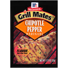 Chipotle Halloween Special by Mccormick Grill Mates Chipotle Pepper Marinade 1 13 Oz Packet