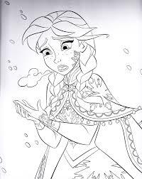 Walt Disney Pages Frozen Coloring Books
