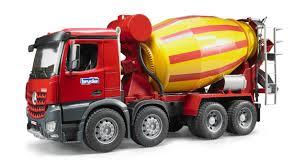 100 Cement Truck Video Bruder 03654 MB Arocs Mixer