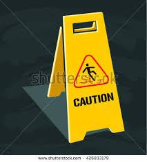 Banana Wet Floor Sign by Caution Wet Floor Sign Easy Editing Stock Vector 330750560