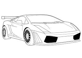 Lamborghini Car Coloring Pages