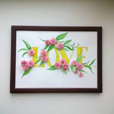 Charming Ideas Paper Quilling Wall Art Designs Quilled