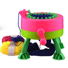 Creative DIY Scarf Hat Quick Knitting Machine Handheld Handwork Weaving Tool For Adult Child