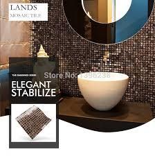 küche back glas fliesen gold linie muster meshback mosaik fliesen für haus bad dusche arbeitsplatte wand boden decor lsjx02