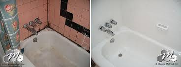 how much does it cost to refinish my tub and tile compared to a