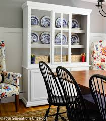 White Painted Hutch Furniture Makeover 3