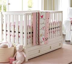 Pottery Barn Crib Bedding | Baby And Kids Pottery Barn Crib Bedding Baby And Kids Crib Duvet Cover Down Comforter Size Blankets Swaddlings Pottery Barn Ava Plus Mattress Carolina Charm Nursery Update Cribs Toxic In Cjunction For The Design Life Style Girls Bassett Recall Airplane Sheets Tags How To Install Dropside Cversion Kit A White Ruffle Skirt With Birds Bedding Pink Green