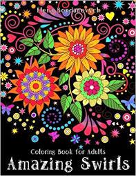 Coloring Book For Adults Amazing Swirls Amazoncouk Happy Elena Bogdanovych 9781519703644 Books