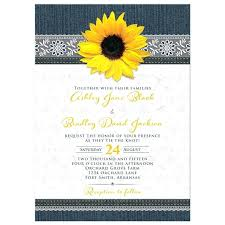 Sunflower Wedding Invitations Cheap For Large Size Of Invitation Packages Also