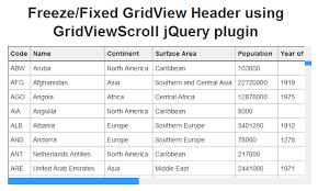ASP NET Freeze GridView Header using GridViewScroll jQuery