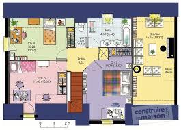 plan maison 4 chambres etage plan maison 7 chambres maison plain pied 7 maison plain pied 7