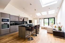 design kombiniert mit der wohnküche in einem privathaus 71