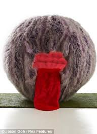 Pilates Ball Chair South Africa by Designer Comes Up With World U0027s First Ever Gigantic Hairy Fish Ball
