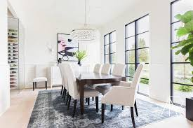 Interior Rugs For Dining Rooms Contemporary 5 RULES CHOOSING THE PERFECT DINING ROOM RUG StoneGable
